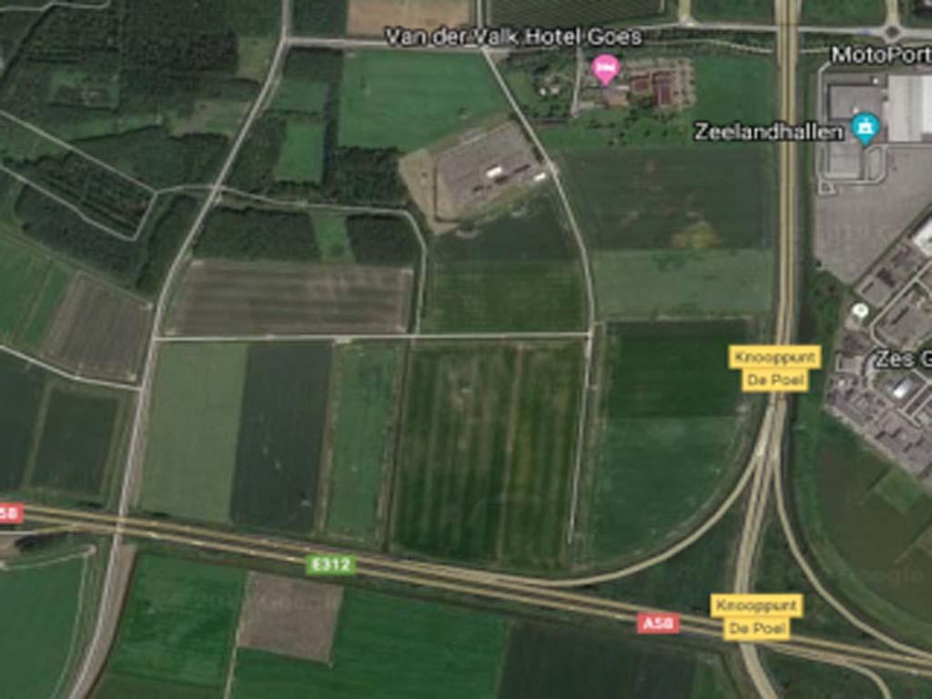 Nieuw bedrijventerrein Deltaweg Goes