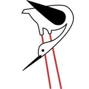 Logo ZMf lidorganisatie De Steltkluut