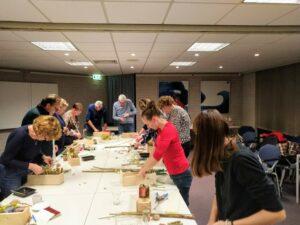 Workshop bijenhotel maken