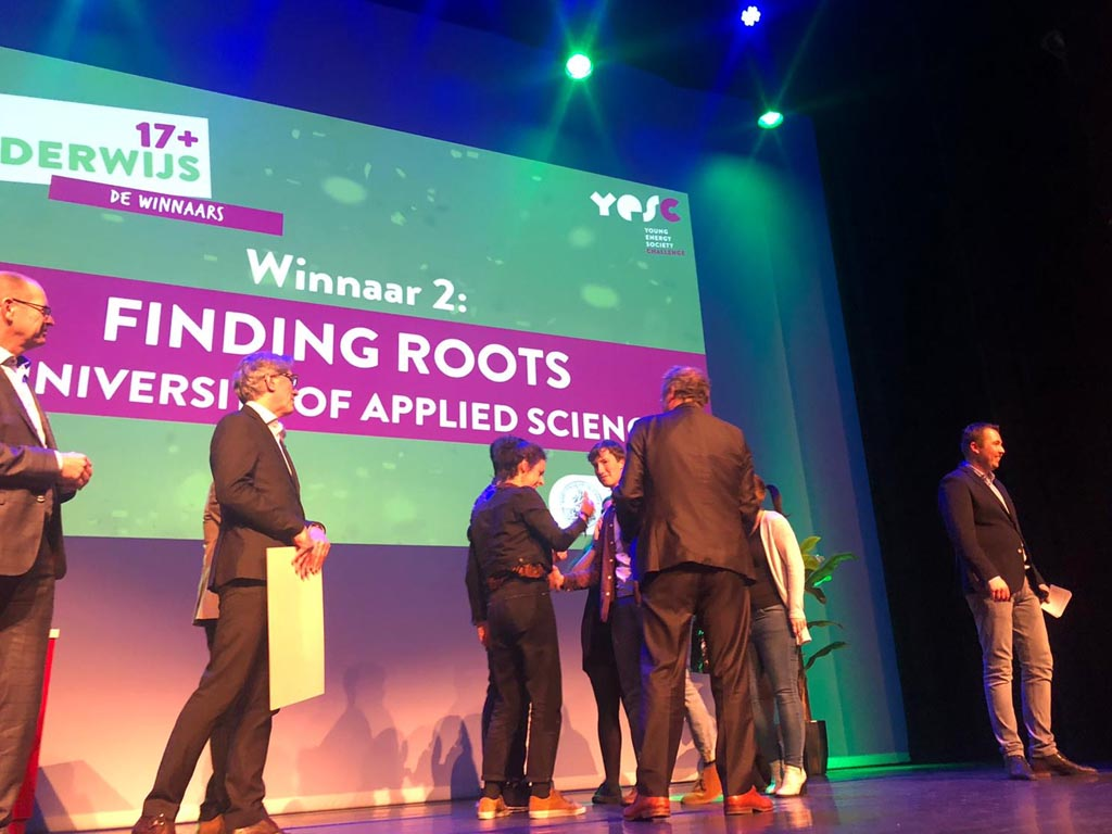 Finding ROOTS wint YESC Challenge