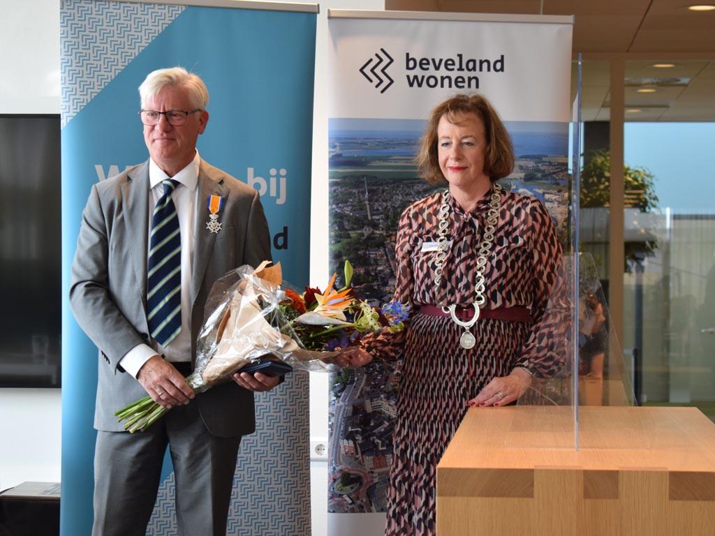Oud RWS-directeur Maarten Sas geridderd