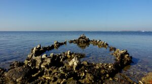 Natuurlijke klimaatbuffer bootje Stavenisse