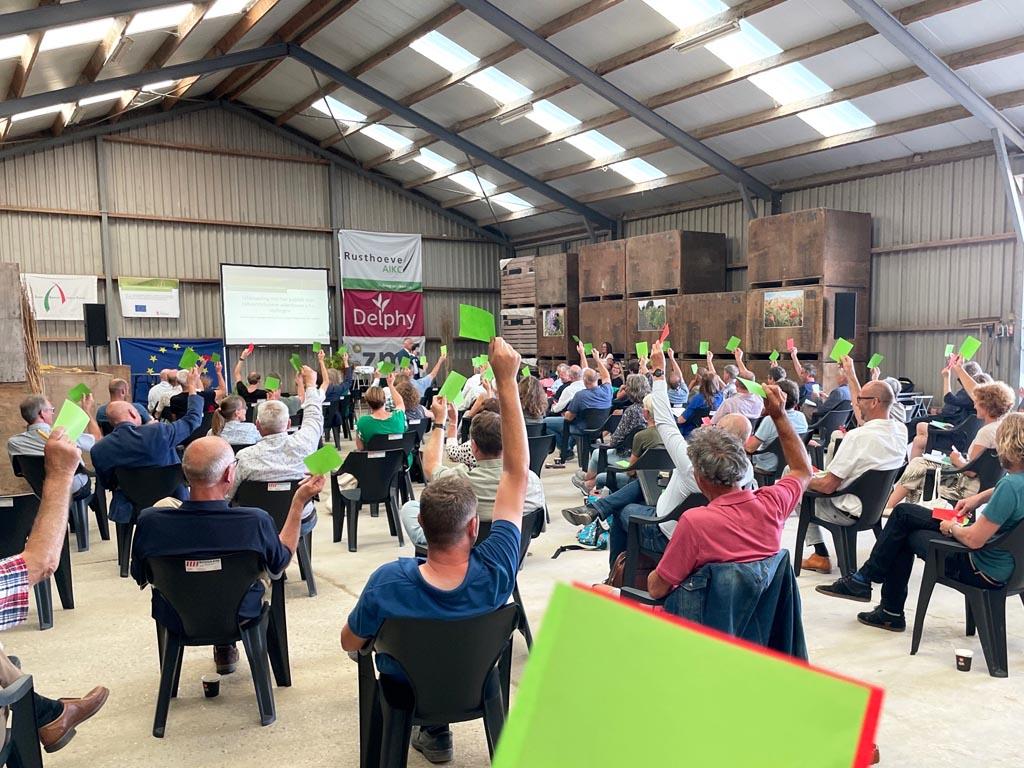 Symposium 'Samen op weg naar een natuurinclusieve akkerbouw' erg druk bezocht